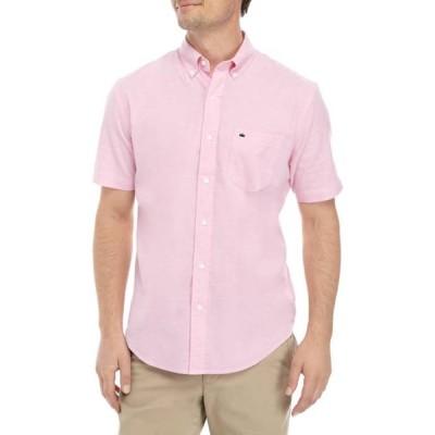 クラウン&アイビー メンズ シャツ トップス Short Sleeve Woven Shirt
