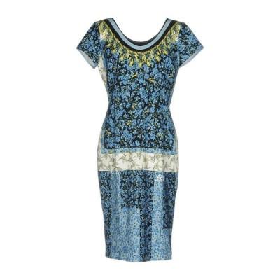 CAVALLI CLASS チューブドレス  レディースファッション  ドレス、ブライダル  パーティドレス ブルー