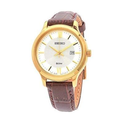 セイコー SEIKO 腕時計 SUR644P1 クォーツ シルバー ブラウンレディース 並行輸入品