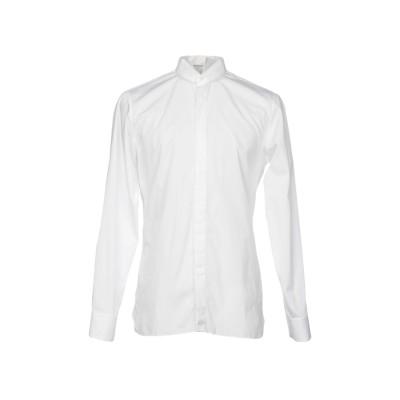ZZEGNA シャツ ホワイト 40 コットン 100% シャツ