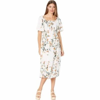 ボボウ Bobeau レディース ワンピース ワンピース・ドレス Smocked Dress Water Floral