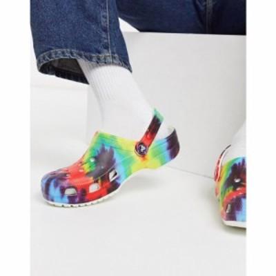 クロックス Crocs メンズ クロッグ シューズ・靴 Tie Dye Clogs In Multi マルチカラー