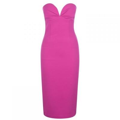 バルドー Bardot レディース ワンピース ワンピース・ドレス Cold Shoulder Dress Pink