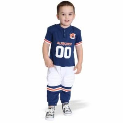Glitter Gear グリッター ギア スポーツ用品  Auburn Tigers Toddler Navy Blue Toddler Football Pajamas