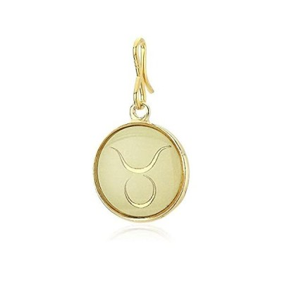 Alex and Ani Women's Etching Charm Taurus Small 14kt Gold Plated, Expandabl