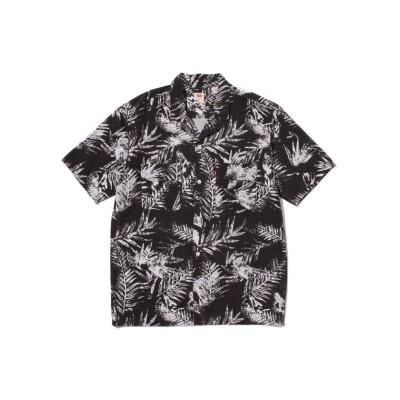 【リーバイス】 オーバーサイズサファリシャツ ARCHIE MINERAL メンズ BLACKS S- Levi's