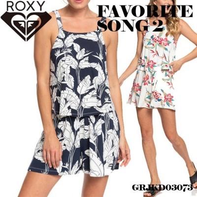 ロキシー サロペット ロンパース レディース タウンユース レジャー 旅行 プレゼント ギフト 白 紺色 ホワイト ネイビー M 通販 人気 ブランド ROXY GRJKD03073