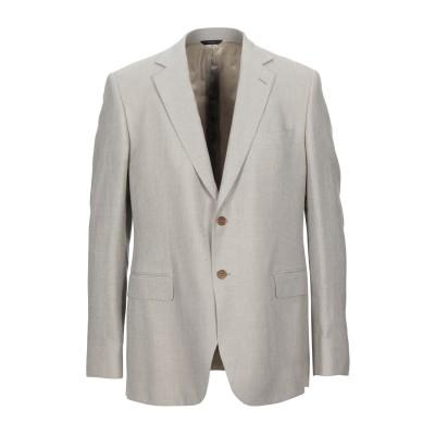 TOMBOLINI テーラードジャケット ドーブグレー 56 リネン 49% / ウール 32% / シルク 19% テーラードジャケット