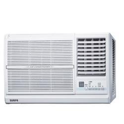 加贈安裝保固1年★SAMPO聲寶 一級能效 變頻窗型冷氣4坪AW-PC28D1右吹
