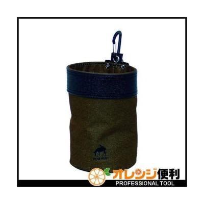 基陽 KH HUMHEM ウエストバッグ丸型 ブラウン HM1199MBR 【770-7622】