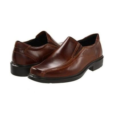 ECCO エコー メンズ 男性用 シューズ 靴 ローファー Helsinki Slip On - Cocoa Brown