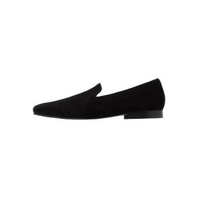ザイン メンズ 靴 シューズ LEATHER - Smart slip-ons - black