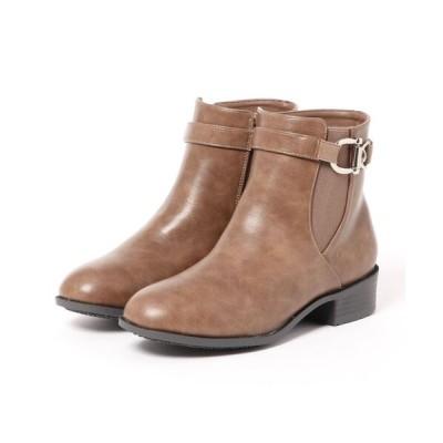 Xti Shoes / ◆ももちゃん コラボデザイン◆防水仕様 ベルト付きショートブーツ WOMEN シューズ > ブーツ