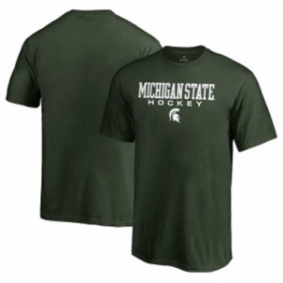 Fanatics Branded ファナティクス ブランド スポーツ用品  Fanatics Branded Michigan State Spartans Youth Green True Sport Hockey T-