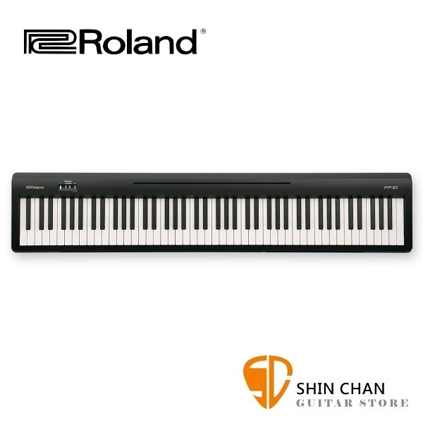 【預購】Roland 樂蘭 FP10 88鍵 數位電鋼琴 附原廠配件 FP-10