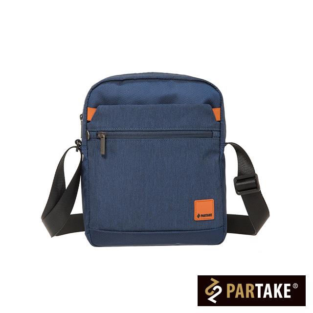 【PARTAKE】D2-直式側背包-藍色 PT19-D2-62RB