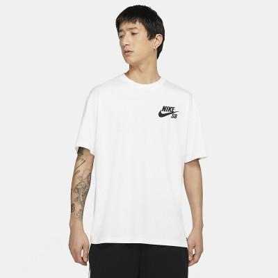 NIKE (ナイキ) ナイキSB ロゴ S/S Tシャツ L WHT メンズ DC7818-100