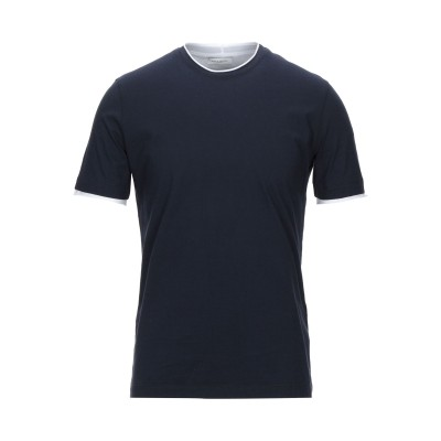 パオロ ペコラ PAOLO PECORA T シャツ ダークブルー S コットン 100% T シャツ