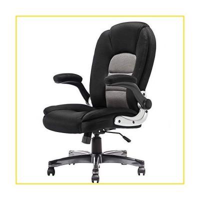 新品SP Mesh Office Chair Adjustable Tilt Angle and Flip-up Arms Executive Computer Desk Chair, Thick Padding for Comfort and Ergonomic Des