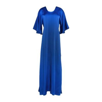 フォルテ フォルテ FORTE_FORTE ロングワンピース&ドレス ブライトブルー 0 アセテート 70% / レーヨン 30% ロングワンピース