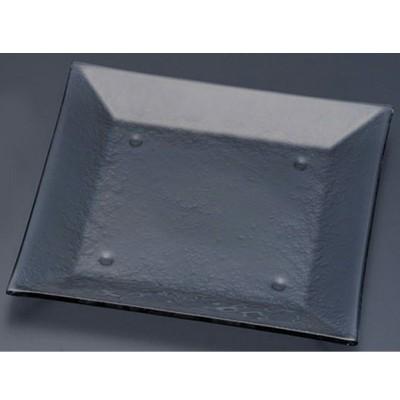 タイガーグラス スクエアプレート 265 162−194−01 グレー