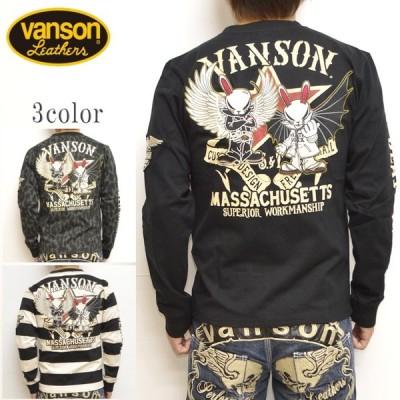 VANSON バンソン×クローズ WORST CRV-929 天竺 長袖Tシャツ ロンT T.F.O.A 武装戦線 メンズ