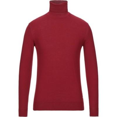 ガッザリーニ GAZZARRINI メンズ ニット・セーター トップス Turtleneck Red