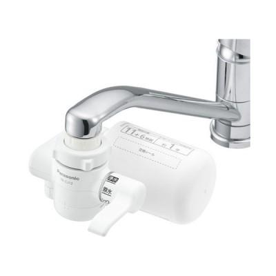 PANASONIC TK-CJ12 ホワイト [蛇口直結型浄水器] 浄水器/整水器