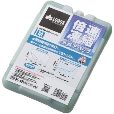 ロゴス(LOGOS) 保冷剤 倍速凍結・氷点下パックM 長時間保冷 81660642