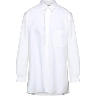 ヨウジヤマモト YOHJI YAMAMOTO メンズ シャツ トップス Solid Color Shirt White
