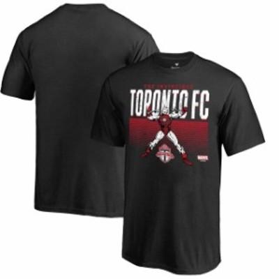 Fanatics Branded ファナティクス ブランド スポーツ用品  Fanatics Branded Toronto FC Youth Black MLS Marvel Iron Man Invincible T-