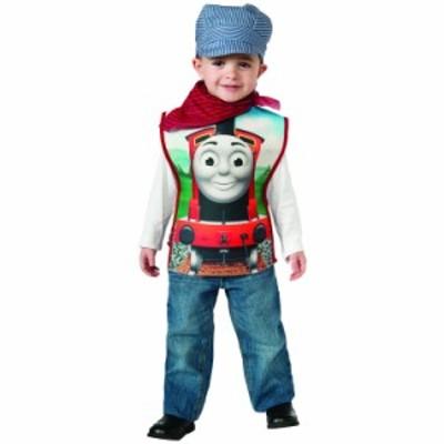 ハロウィン 衣装 子供 ルービーズ きかんしゃトーマス ジェームス コスチューム 男の子 90-120cm 610083
