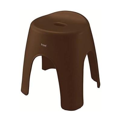 アスベル 風呂椅子 エミール 高さ35cm Ag 抗菌 ブラウン (ブラウン)