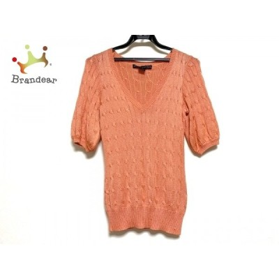 ラルフローレン RalphLauren 半袖セーター サイズS レディース 美品 オレンジ    値下げ 20201111