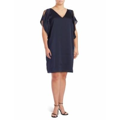 レイチェルロイ レディース ワンピース Satin Flutter-Sleeved Dress