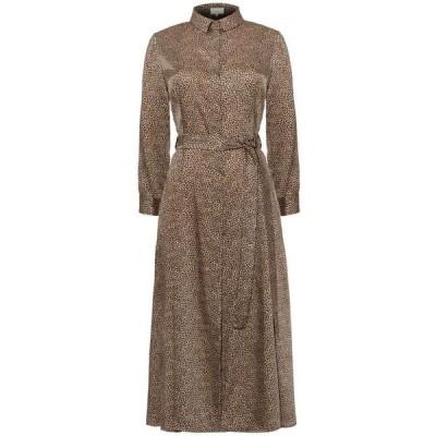ダンセル Damsel in a Dress レディース ワンピース シャツワンピース ワンピース・ドレス Lexia Animal Print Shirt Dress Neutral