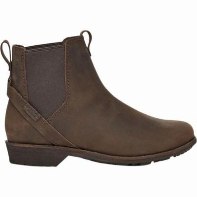 (取寄)テバ レディース エレリー プル オン ブーツ Teva Women Ellery Pull On Boot Bison