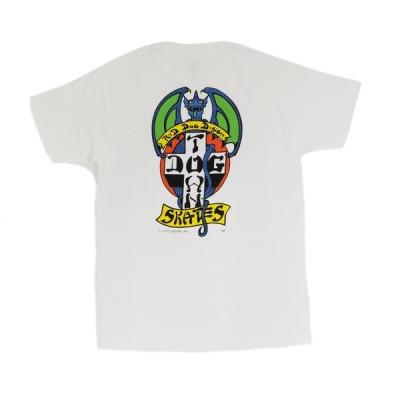 ドッグタウン レッドドッグ グリーンウィングス 半袖 Tシャツ ホワイト DOGTOWN RED DOG (GREEN WINGS) S/S T-SHIRT WHITE
