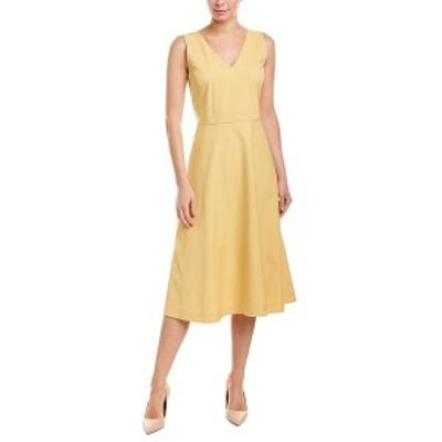ラファイエットワンフォーエイト レディース ワンピース トップス Lafayette 148 Jayda A-Line Dress sienna yellow