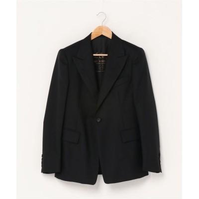 GARDEN TOKYO / ROBES&CONFECTIONS/ローブスアンドコンフェクションズ/Scotland Cheviot Wool Single Jacket/スコットランドチェビオットウールシングルジャケット MEN ジャケット/アウター > テーラードジャケット
