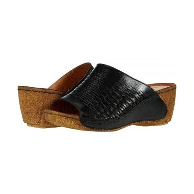 Spring Step スプリングステップ レディース 女性用 シューズ 靴 ヒール Cunacena - Black