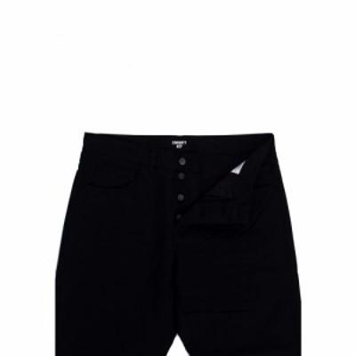 カーハート Carhartt WIP メンズ ボトムス・パンツ - Newel Newcomb Black - Pants black