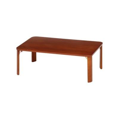 折脚ローテーブル(ブラウン) KSM−9060BR テーブル 4953980128416 折脚ローテーブル(ブラウン) KSM−9060BR テーブル 495398[▲][FT]