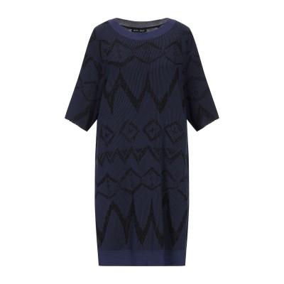 バハ イースト BAJA EAST ミニワンピース&ドレス ダークブルー 1 コットン 100% ミニワンピース&ドレス