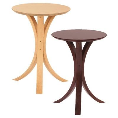 サイドテーブル 円形 丸 ナチュラル 北欧 おしゃれ 脚 デザイン