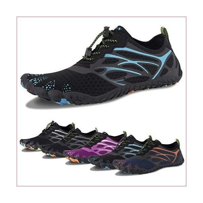 Water Shoes for Men and Women Barefoot Quick-Dry Aqua Sock Outdoor Athletic Sport Shoes for Kayaking, Boating, Hiking, Surfing, Walking (D-B
