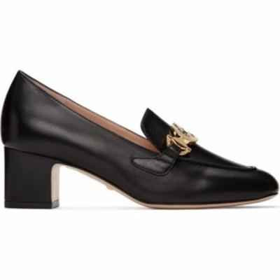 グッチ Gucci レディース ローファー・オックスフォード シューズ・靴 Black Zumi Mid-Heel Loafers Black