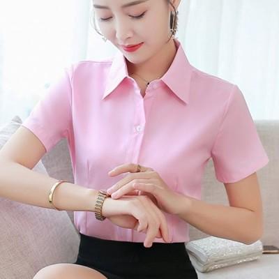 韓国 ファッション 夏 コットン ホワイト 半袖 女性 ブラウス レディース プラスサイズ 5XL ピンク レディース トップス とブラウス AliExpress グループ上