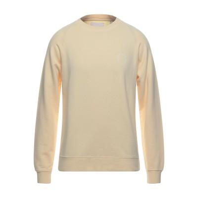 ONTOUR スウェットシャツ ライトイエロー L コットン 100% スウェットシャツ