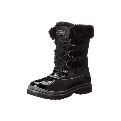 ブーツ シューズ 靴 海外セレクション Khombu 8877 レディース フリー ブラック Faux Fur ウインター ブーツ シューズ 6 ミディアム (B,M)
